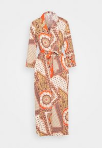 Object Tall - OBJSUN LONG DRESS  - Korte jurk - cloud dancer - 0