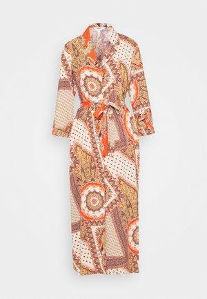 OBJSUN LONG DRESS  - Robe d'été - cloud dancer