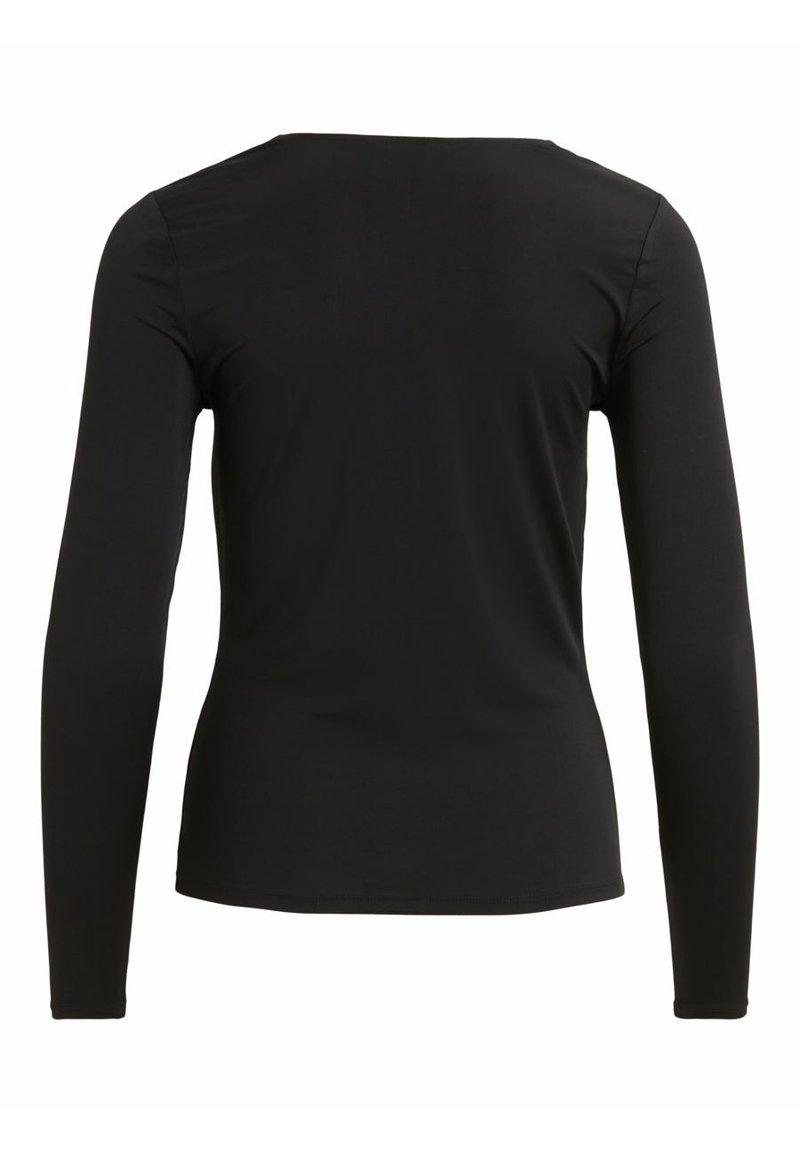 Object Langarmshirt - black/schwarz J5N9pM