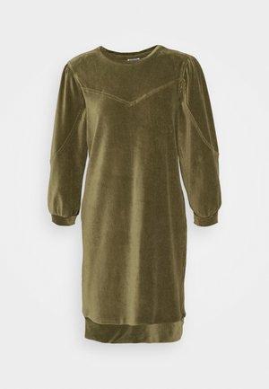 NMALBA SIMONE  3/4 SLEEVE  - Korte jurk - kalamata