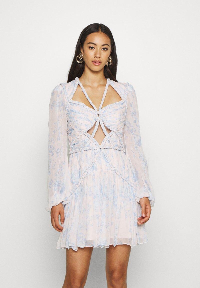 Thurley - CONQUEST MINI DRESS - Sukienka koktajlowa - offwhite
