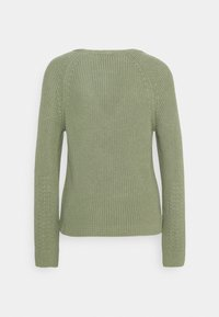 Marc O'Polo - LONG SLEEVE - Jumper - dried sage - 7