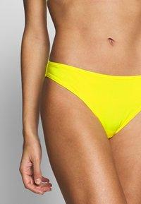 OW Intimates - KENYA BOTTOM - Bikini bottoms - yellow - 4