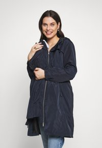 Seraphine - SKYLARRAINCOAT WITH BABY POUCH - Parka - navy - 0