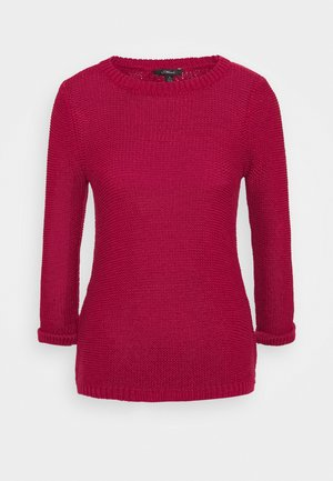 LONG SLEEVE  - Jersey de punto - red