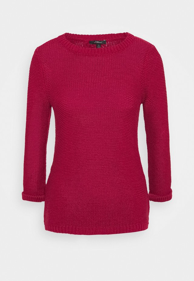 LONG SLEEVE  - Neule - red