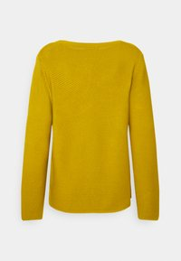 Marc O'Polo - SMALL LINKED ON COLLAR - Jumper - fresh pea - 1