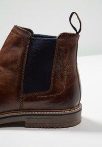 Bugatti - VANDO - Classic ankle boots - cognac - 5