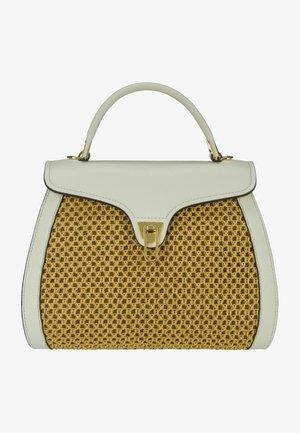 MARVIN - Handbag - caramel/lambskin white