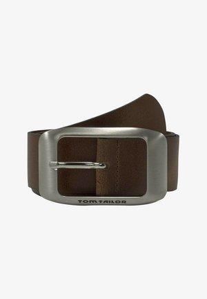 Belt - light brown uni