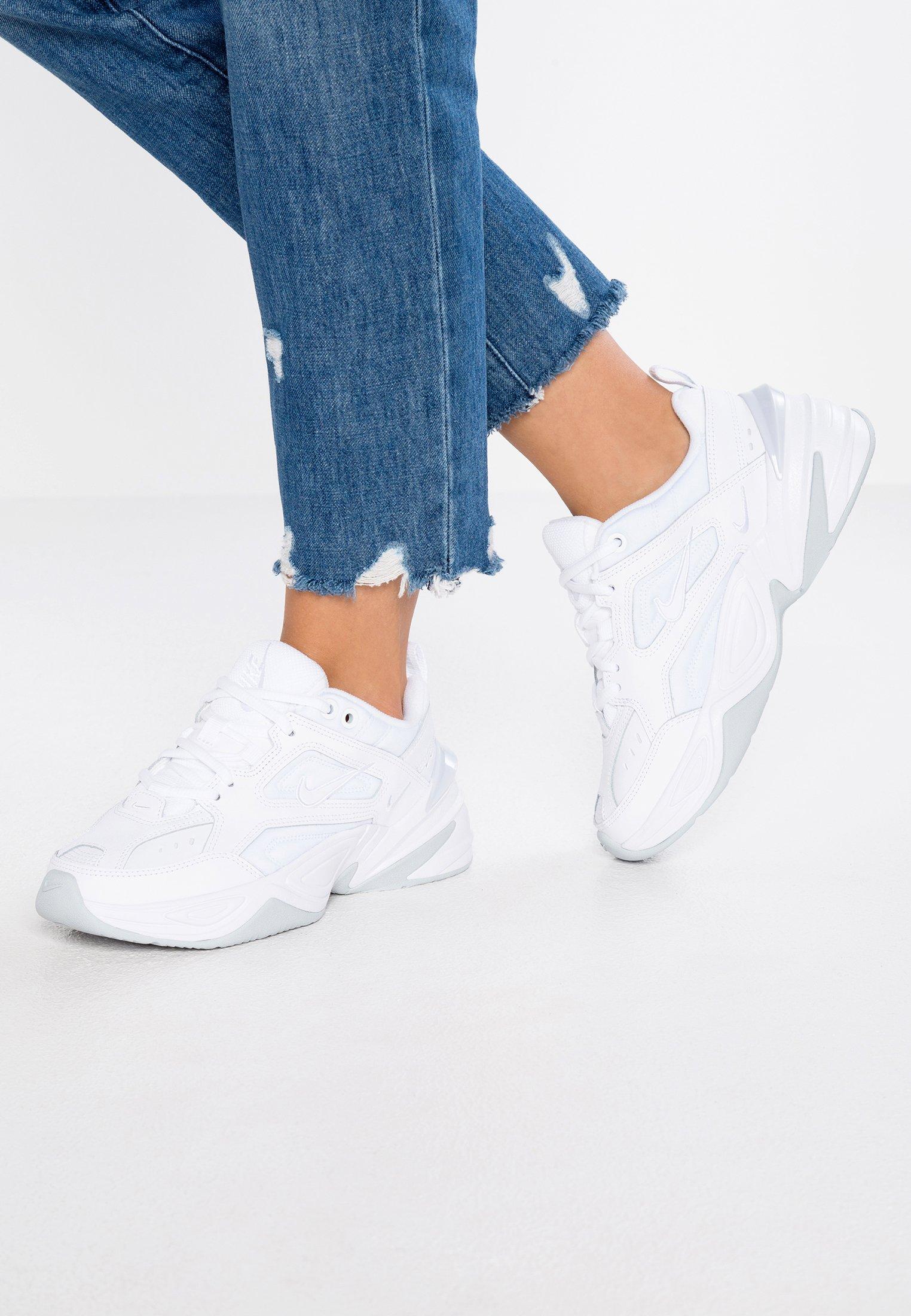 Nike Sportswear M2K TEKNO - Baskets basses - white/pure platinum ...