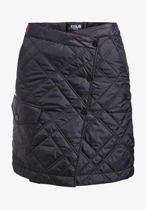 ISOLDE - A-snit nederdel/ A-formede nederdele - black