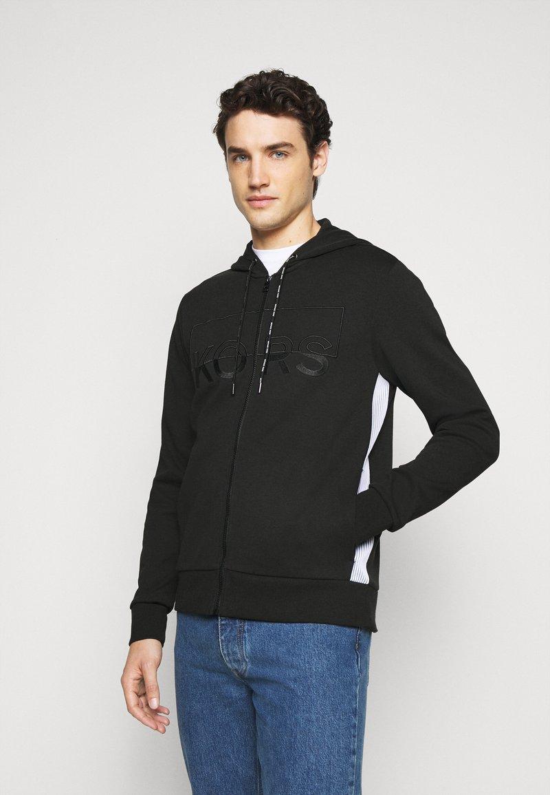 Michael Kors - KI HOODIE - Zip-up hoodie - black