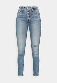 Calvin Klein Jeans - HIGH RISE ANKLE - Jeans Skinny Fit - denim medium - 4