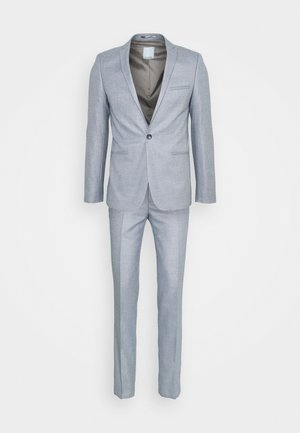POUL SLIM SUIT - Traje - light blue
