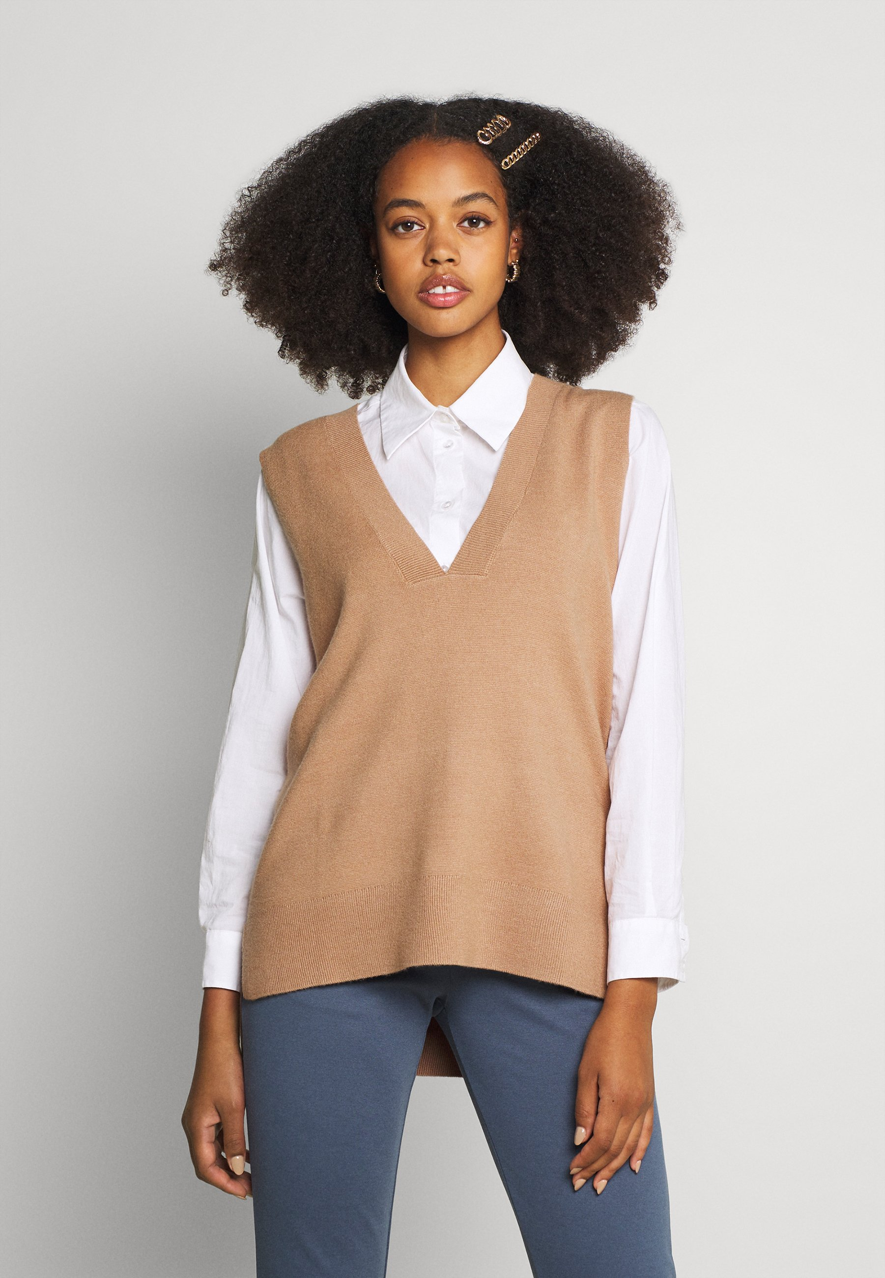 Femme ONLDALLAS V-NECK - Pullover