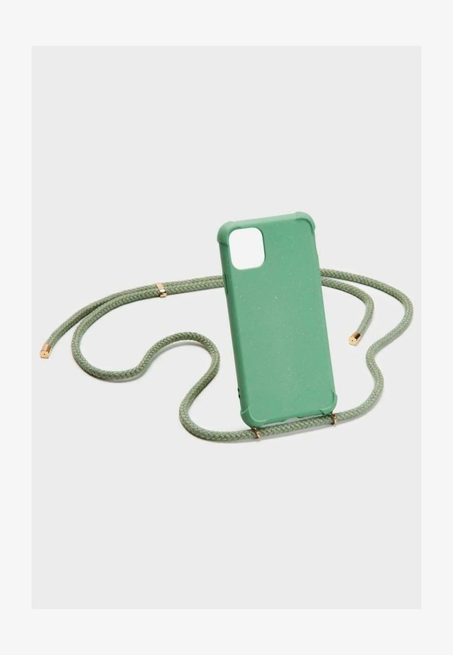 IPHONE 12 PRO MAX - Phone case - green/gold