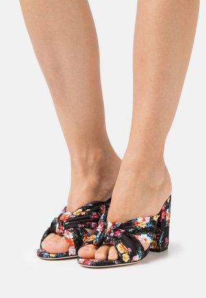 SCARPA DONNA WOMAN`S SHOES - Pantofle na podpatku - black
