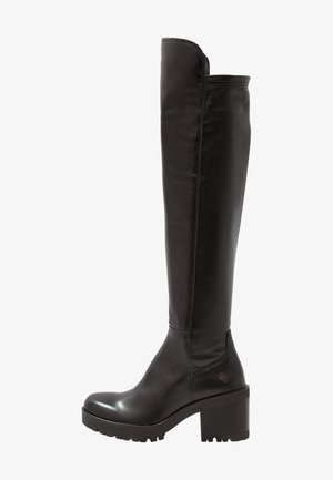 COSMOS - Over-the-knee boots - wonderfull black