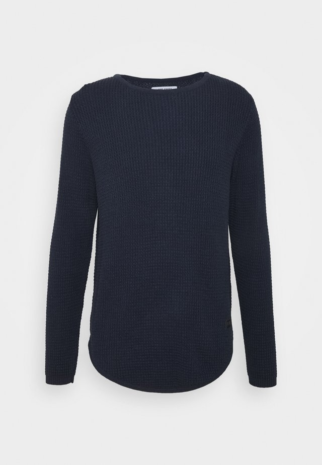ARNOLD - Neule - navy mell