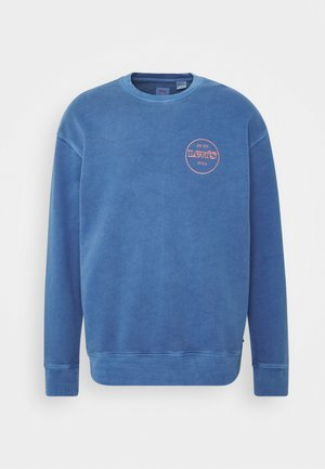 RELAXED GRAPHIC CREW - Sweatshirt - blues