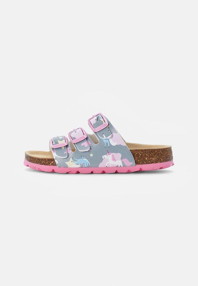 FUSSBETTPANTOFFEL - Pantoffels - grau