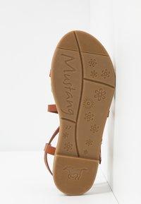 Mustang - Sandals - cognac - 6