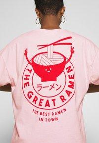 Even&Odd - T-shirt print - pink - 5