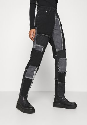 CHEAT JEAN - Jeans straight leg - mixed charcoal