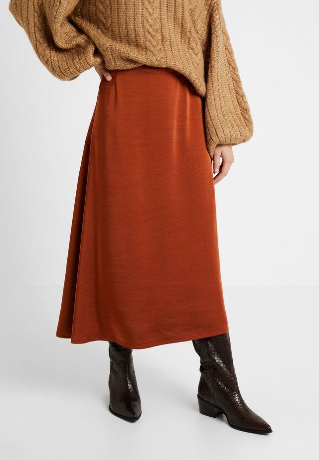 KAMRYN SKIRT - A-line skirt - umber