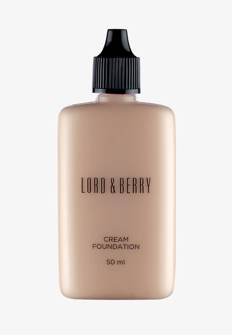 Lord & Berry - CREAM FOUNDATION - Foundation - foundation almond