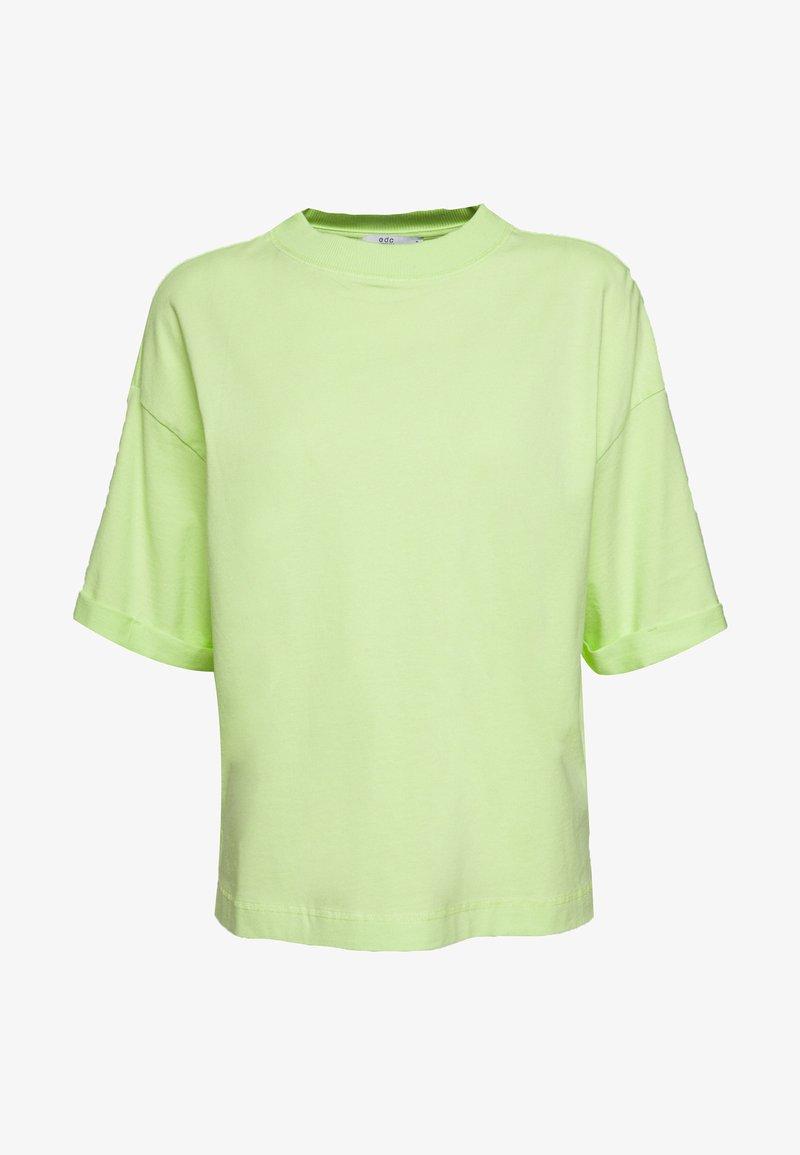 edc by Esprit - CRISPY - Basic T-shirt - lime yellow