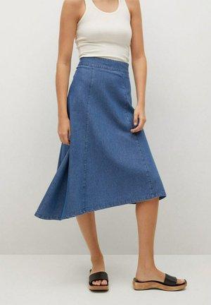 GAIA-H - A-line skirt - medium blue