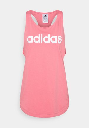 LOUNGEWEAR ESSENTIALS LOOSE LOGO TANK TOP - Top - light pink