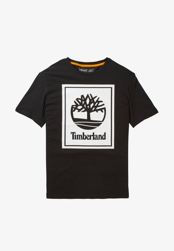 YC CORE+ SS STACK - Print T-shirt - black-white