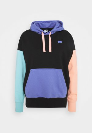 DOWNTOWN HOODIE - Jersey con capucha - black