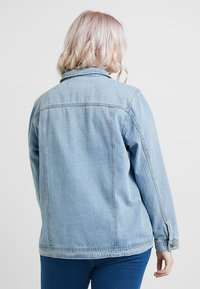 Simply Be - OVERSIZED JACKET - Denim jacket - bleachwash - 2