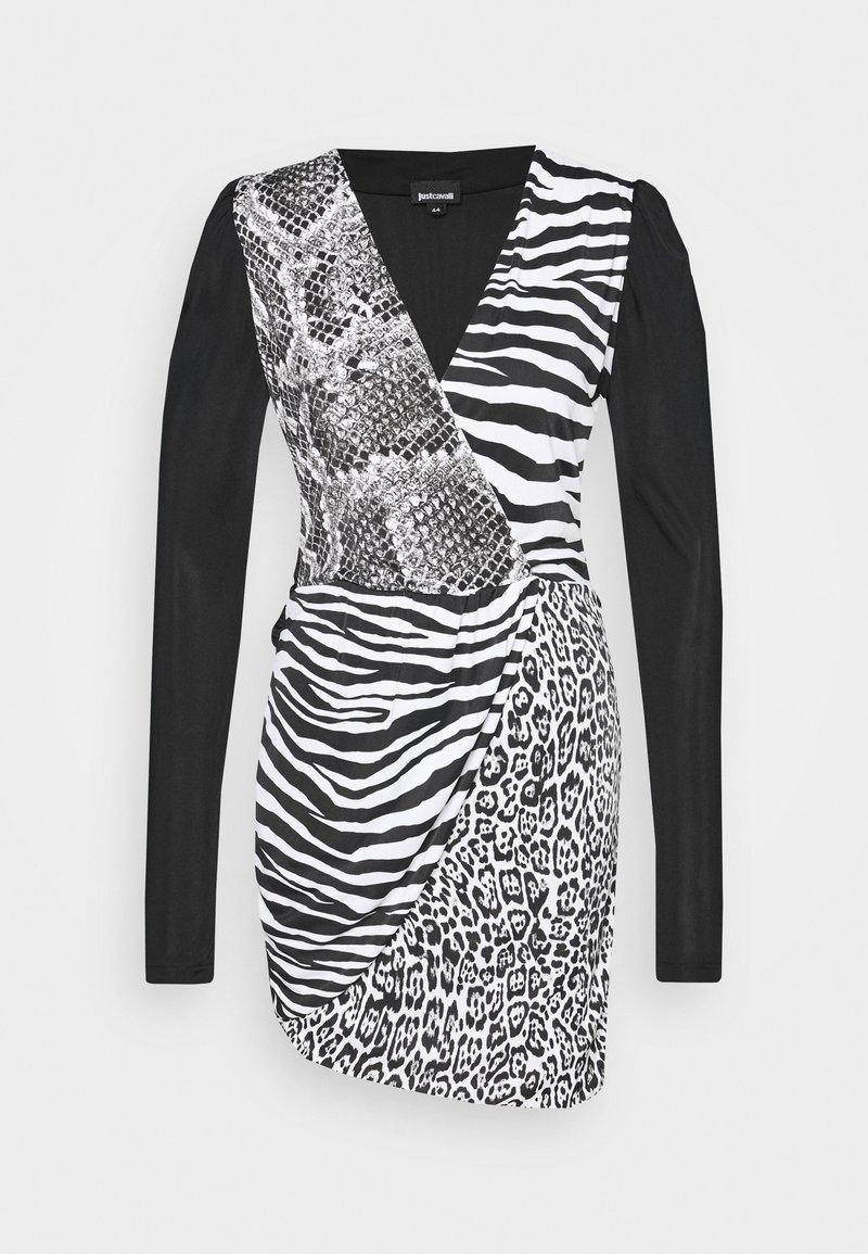Just Cavalli - Pouzdrové šaty - back