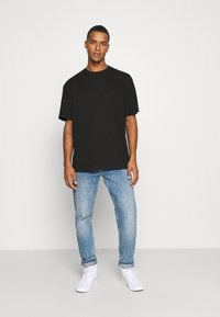 Weekday - OVERSIZED - T-shirt basic - black - 1