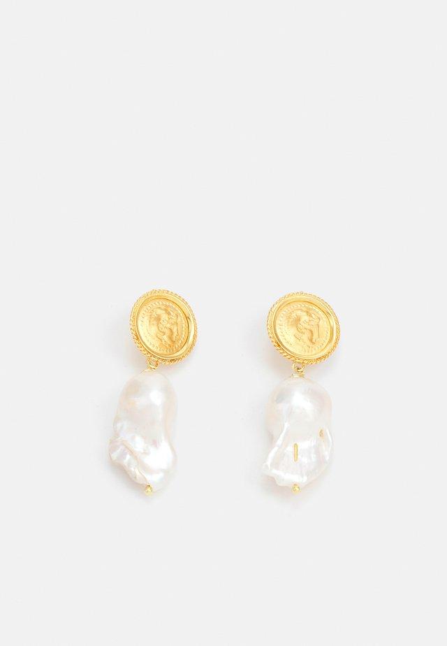 HERCULES LOST SEA PIN EARRINGS - Boucles d'oreilles - gold-coloured