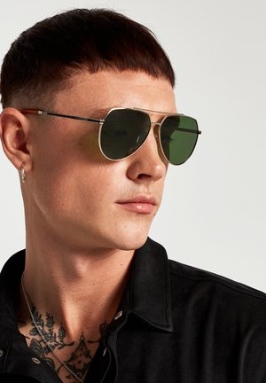 SHADOW - Sunglasses - gold polarized