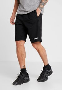 Hummel - HMLGO BERMUDA - Sports shorts - black - 0