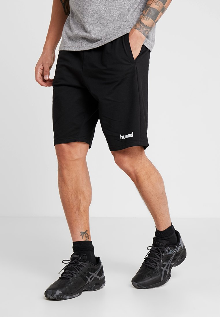 Hummel - HMLGO BERMUDA - Sports shorts - black