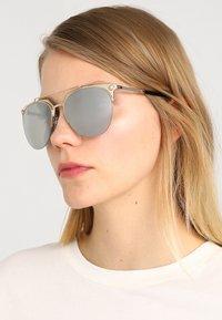 Versace - Sunglasses - gold/light grey/silver - 1