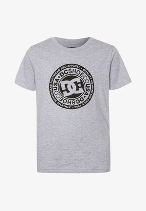 CIRCLE STAR BOY - T-shirt print - grey/black