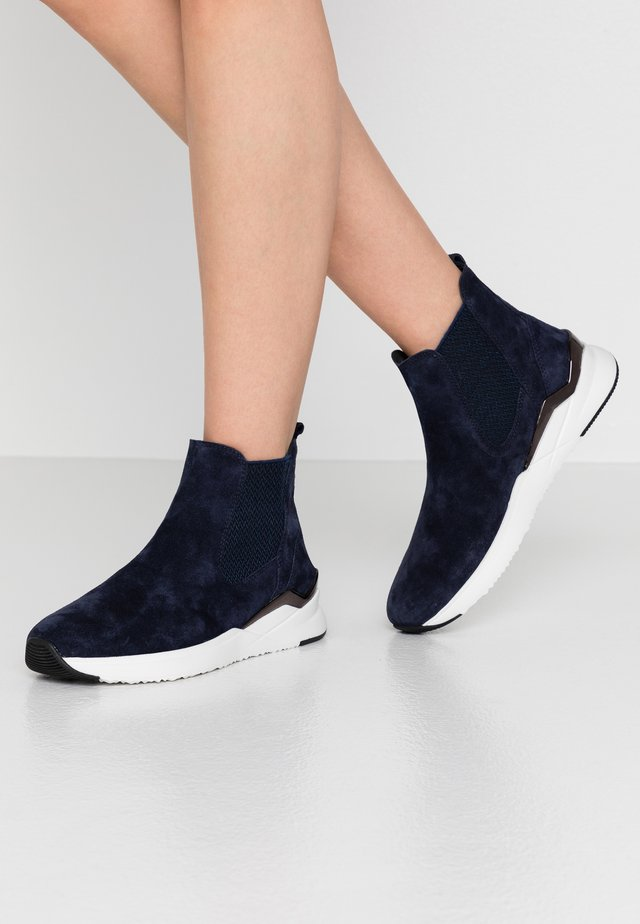 Ankle boot - marine