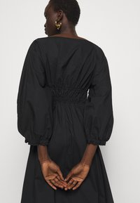 Proenza Schouler White Label - FULL SLEEVE DRESS - Vestido informal - black - 3