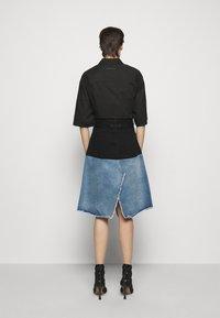 MM6 Maison Margiela - Denim skirt - blue - 2