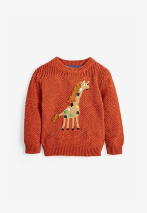 GIRAFFE CHARACTER - Jumper - brown