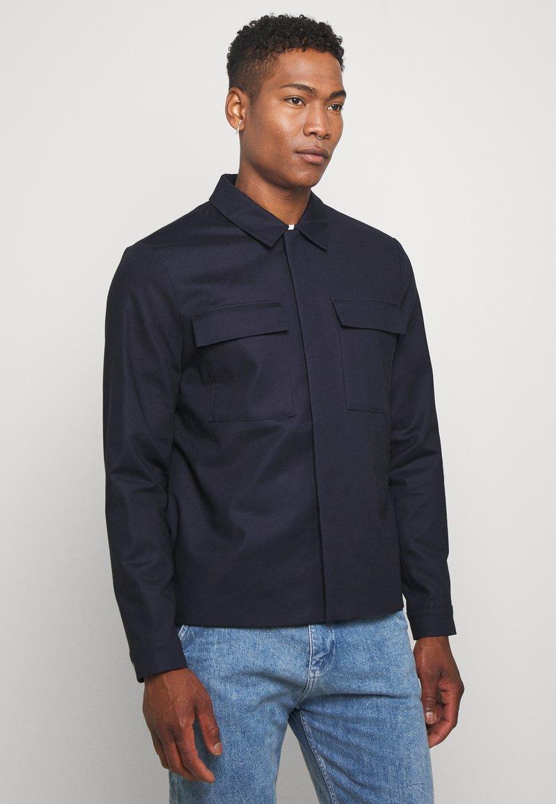 Topman - SMART SHACKET  - Summer jacket - navy